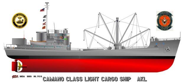 Light Cargo Ship - Camano Class