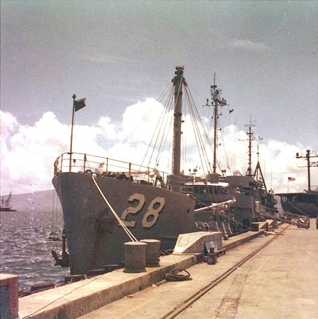 Subic Bay - July 1966