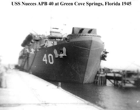 APB40 DOCKWED AT GREEN COVE SMALL