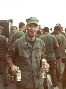 Beer call alongside the USS BENEWAH - Circa 1968 This is all I have left of my Vietnam mementos.