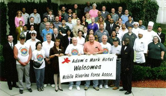 Adams Mark Hotel Staff / MRFA Board Members Reunion Planning Meeting