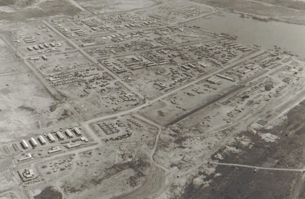 Dong Tam was home to many 9th Infantry troops during the Vietnam War. Click the image below to see an aerial photo of the base taken approximately 1968.