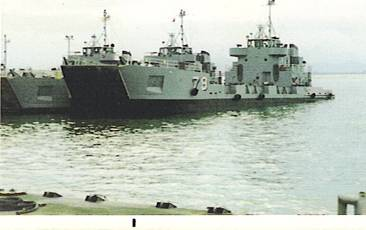 YFU-79 at Tien Sha Sand Ramp, Christmas 1969 DaNang