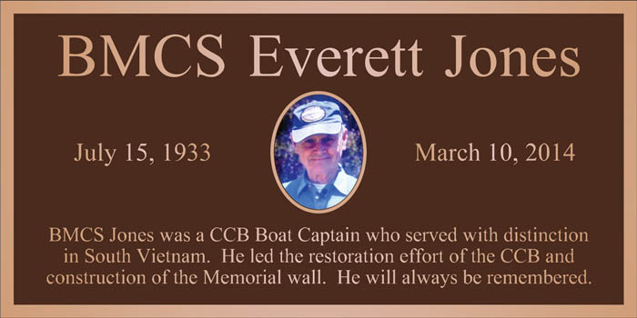 Chief Jones was Boat Captain of CCB-151-4 & CCB-152-5 from April 1969 to April 1970